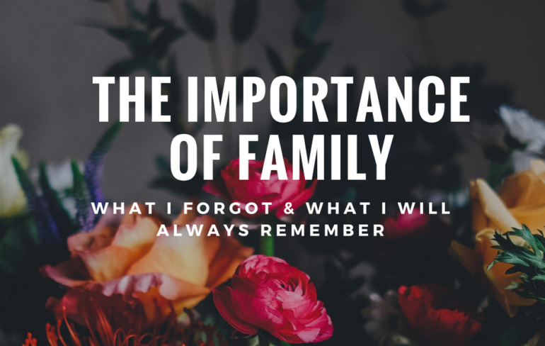 The Importance of Family